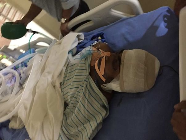 Urgent Help for mr sunil prajapat met with an accident on ventilator