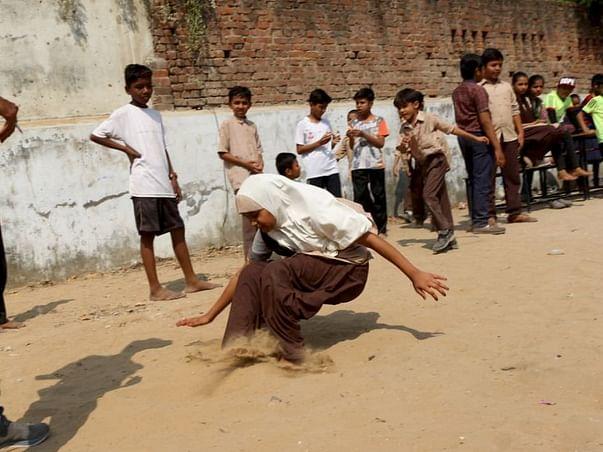 Help us make sports accessible to underprivileged children in Amdavad