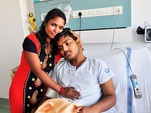 Navin Fought Cancer Like A Hero, Now Relapse Is Threatening His Life