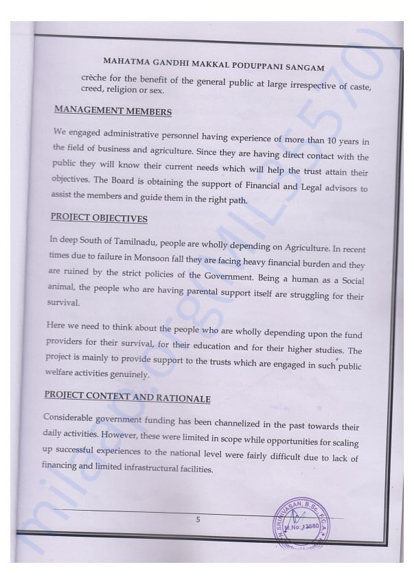 PROJECT page 5