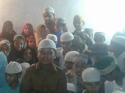 Distribution of Ration for Poor , Clothes distribution for Orphans