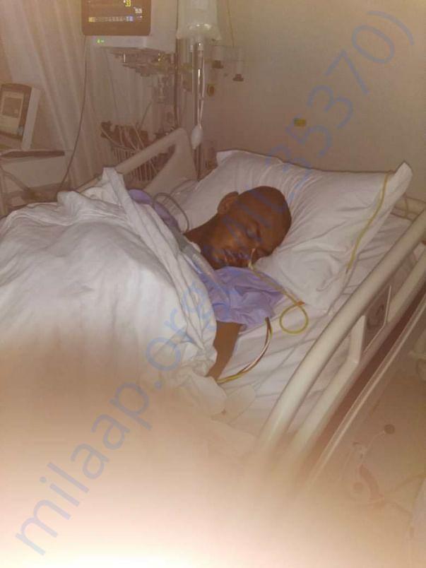 Nrusingha's in Icu post surgery