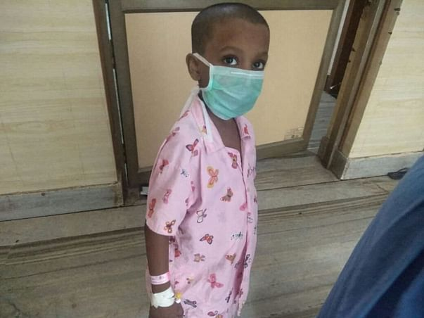 Please help this 6 year old Adithyan - A Blood Cancer Patient