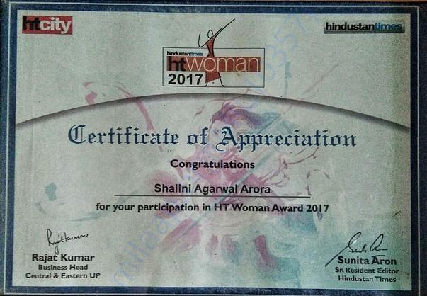 Hindustan Times Awardee