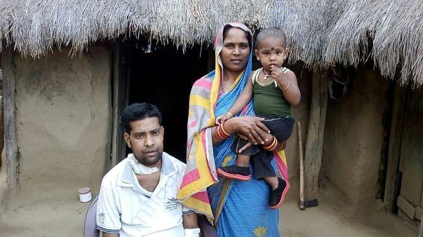 Mr Narayan and his family