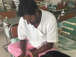 Help Sampath fight spinal angioma