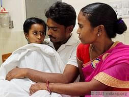 Labour Who Earns Rs 200/Day Needs Rs. 2 Lakhs To Save His 6-year-old