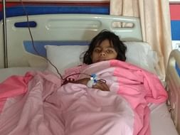 Help 8 Years Old Aishika To Fight Against Thalassemia..