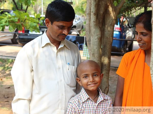This Unemployed Kannada Teacher Has No Money To Save Son