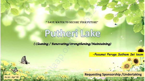 PUTHERI LAKE RESTORE PDF