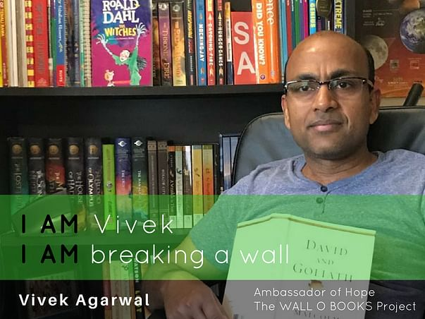 Join Vivek to bring hope to 1 Million Kids in India