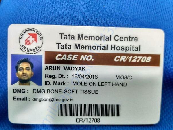 TMCH admit card