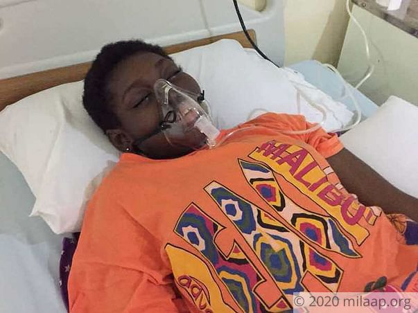 14-year-old Margaret needs a bone marrow transplant to survive
