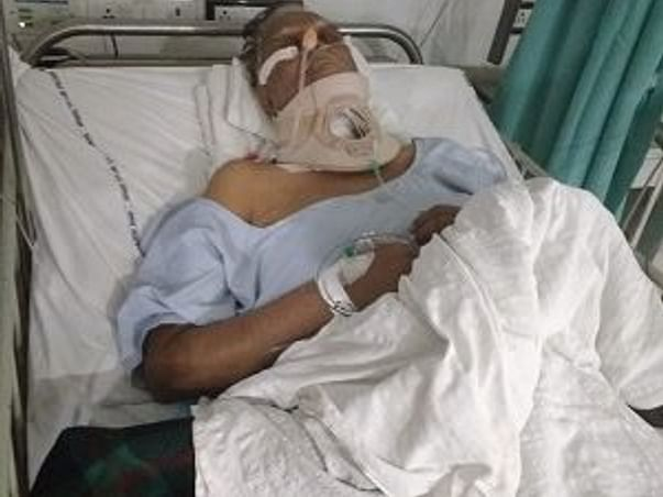 help for operation of father spinal surgery