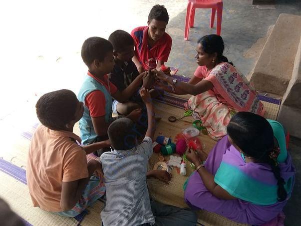 OUR TEACHERS TEACHING THE CHILDREN