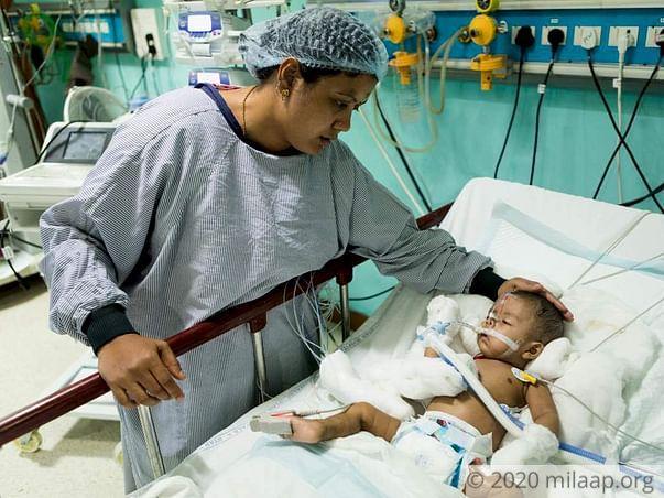 Baby of Kalyani  Pneumonia