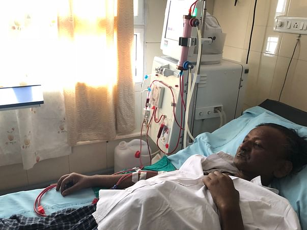 Help my dad for dialysis treatment..polycystic kidney diseased patient