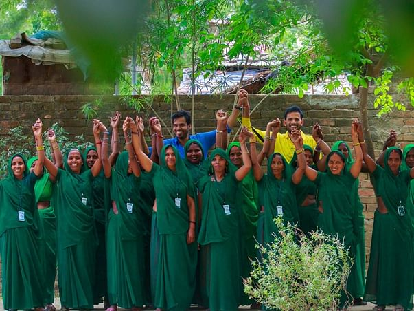 Help Ravi empower rural women to fight domestic violence #GreenGroup