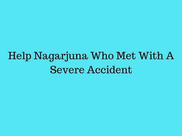 Help nagarjuna met with an accident