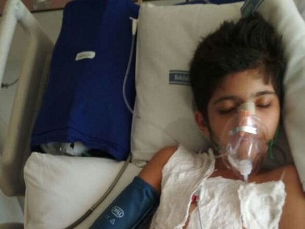Plz help me save my 10 yrs old son