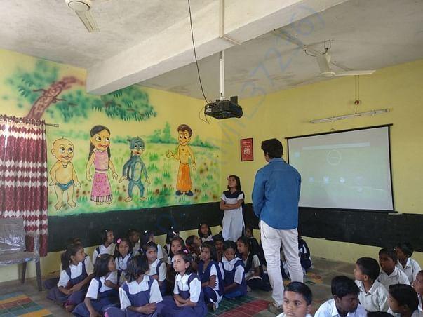 Digital Class at Z.P School Chikatgaon