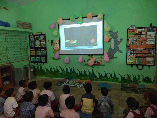Digital Class and Library Set up at Z.P school, Pastepada, Tq.Thane