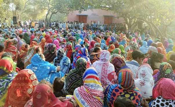 Program of 10 thousand community People at Old Age Home