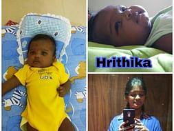 Fund For Hrithika: Kowsalya Rajendhiran's 2 Months Old Daughter