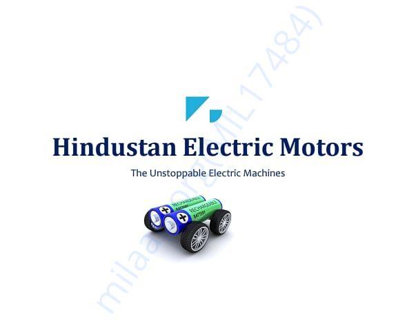 Hindustan Electric Motors Intro