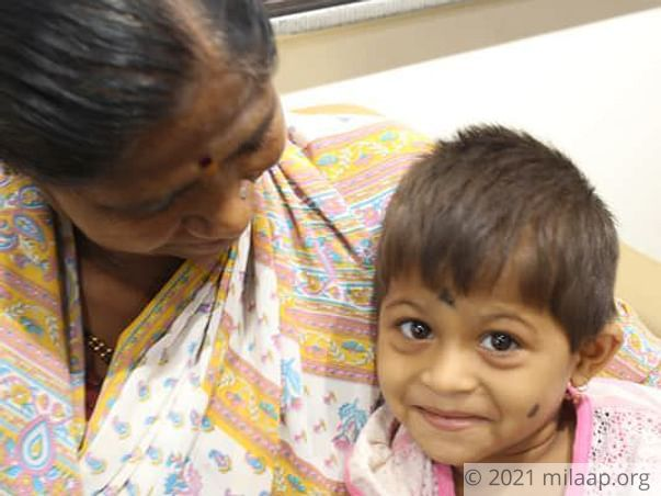 Little Janavi Just Wants To Play, But Cancer Is Weakening Her Everyday