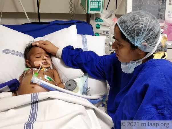 Baby Girl Fighting Mix Of Two Kinds Of Cancer Is Critical In The ICU