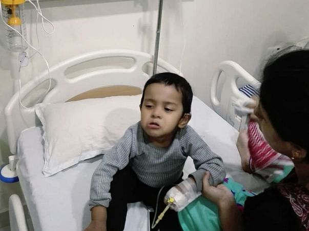 Help Rishan Smile And Recover Fully From Blood Cancer