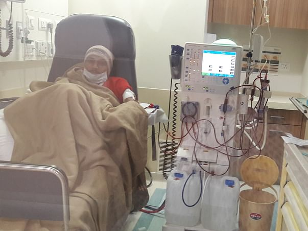 VIVEK fighting kidney failure & need urgent transplant to survive