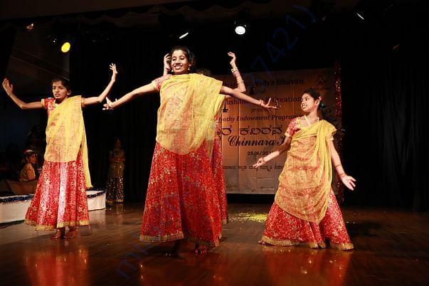 Artistic children performance