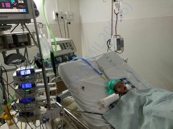 Rudraksha in ICU