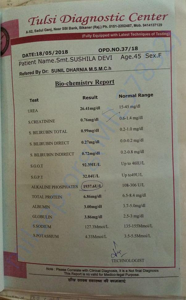 Bio-chemistry report
