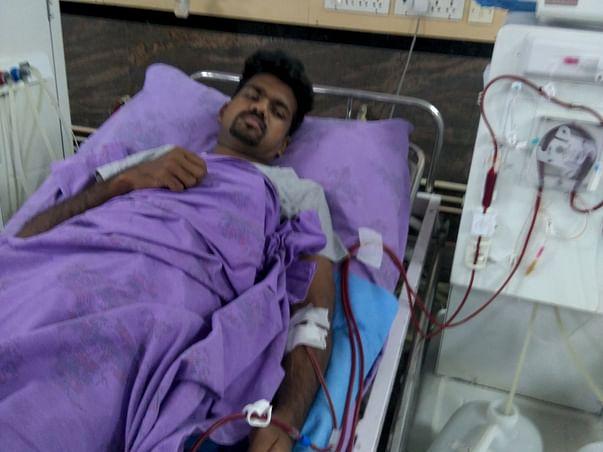 Help Kishan for a Kidney Transplant