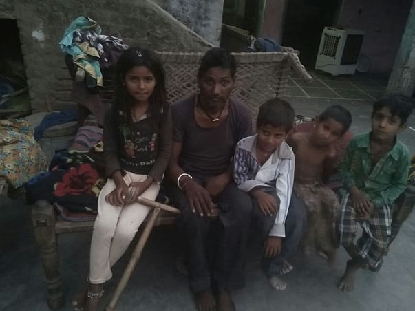 Support farmer family who met with an accident