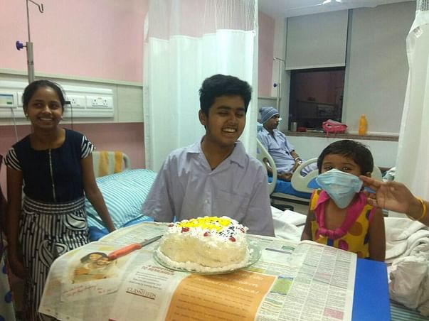 Help 14 year-old Dhruv fight Blood Cancer!