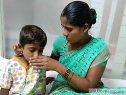 Help Sathish fight heart disease