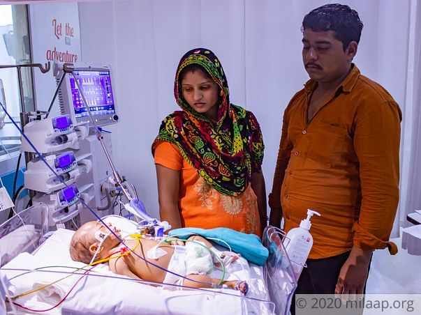 Father With Speech Disorder Is Forced To Leave Baby In Hospital