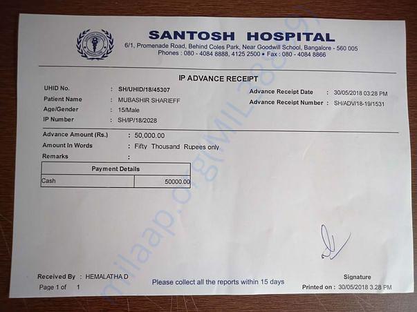 Hospital Bill - 5