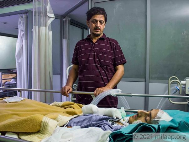 Even After 2 Years of Accident Father Is Struggling To Save His Son