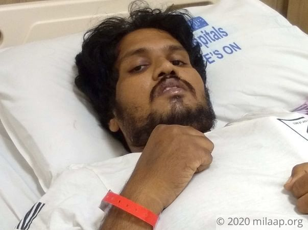 Sunil is suffering from blood cancer and needs our help