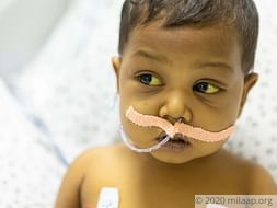 Only a liver transplant can save baby Ayesha