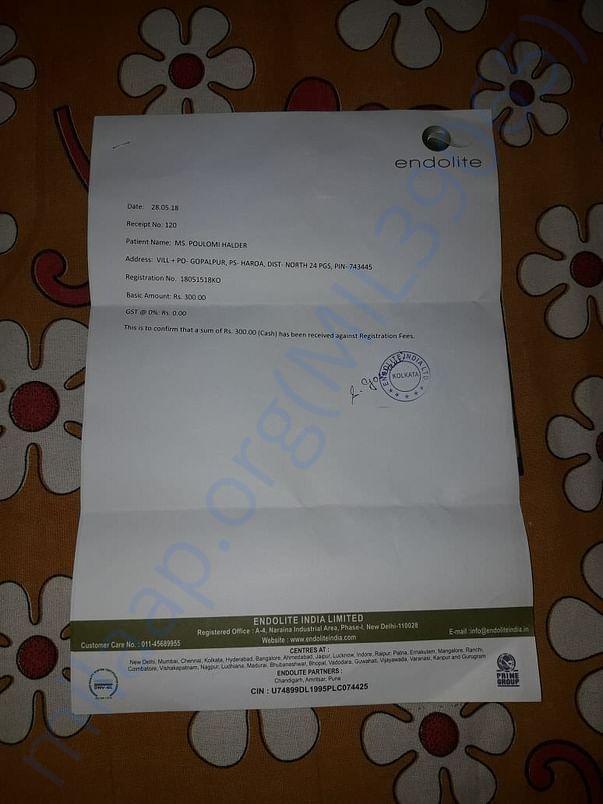 Endolite registration