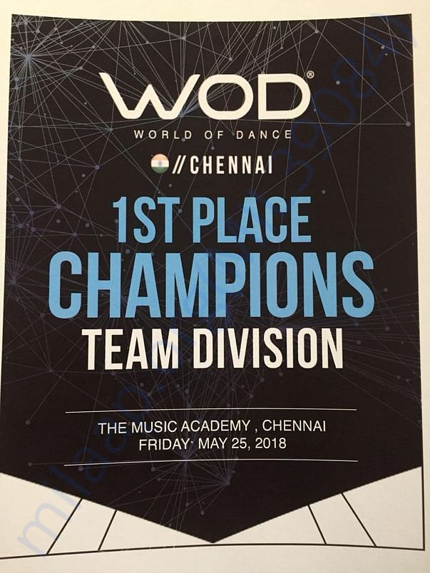 World Of Dance - India Qualifiers Champions