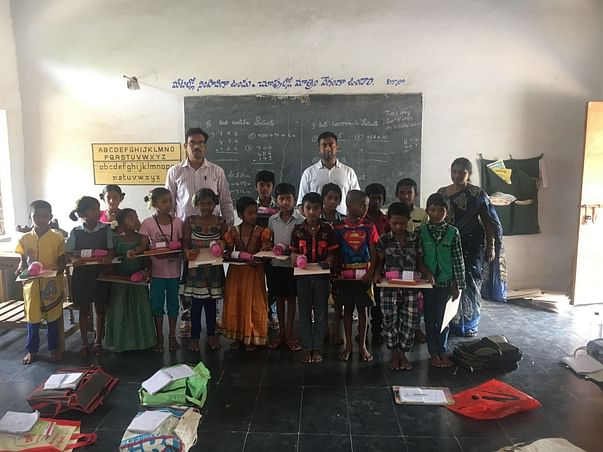 Help Underprivileged kids from 12 schools receive quality education