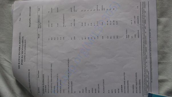 Medical test report4