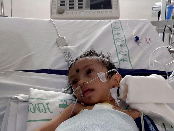 Help Rudraksha Fight Heart Defect